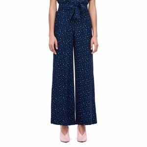 Rebecca Taylor | Speckled Dot Silk Jacquard Pants